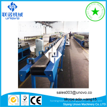 automatic rollform production line for steel door frame machine
