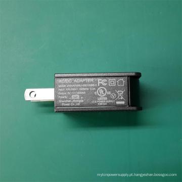 Alta Qualidade UL FCC Certificado Carregador 5V1a USB Power Adapter