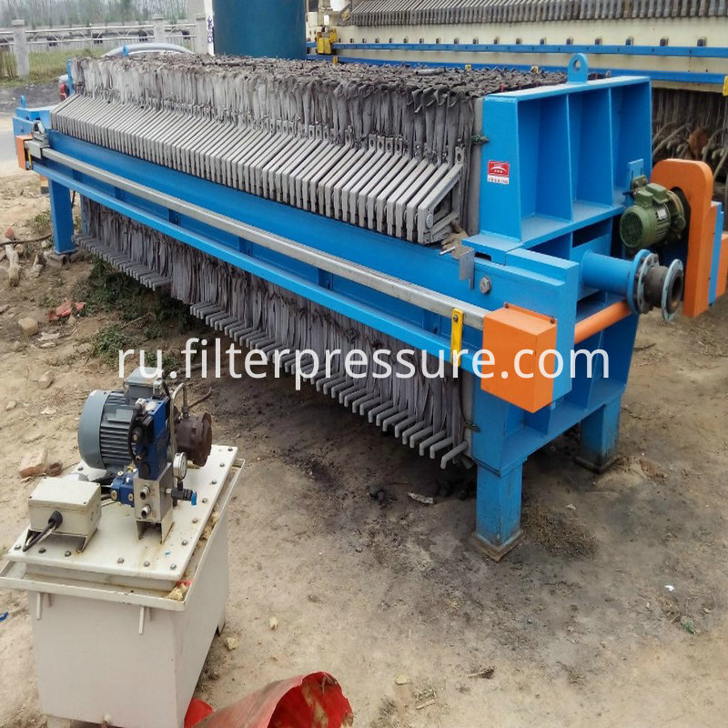 Filter Press Working Site