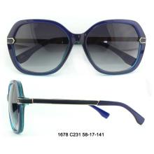 2017 neue Brille Damenmode Rahmen Sonnenbrille Auge Sonnenbrille