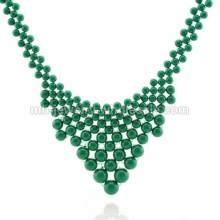 Поддельный жемчуг связаны ожерелье ручной работы Амулеты