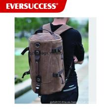 Mochila de lienzo mochila mochila mochila al aire libre bolsa de lona bolsa de camping grande mochila paquete