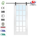 * JHK-G24 Doccia Barn Door Barn Door Rails e rulli Barn Door Camera da letto