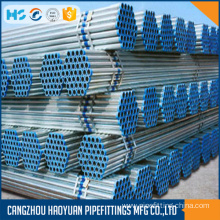 6Inch Diameter Hot Dip Galvanized Steel Pipe