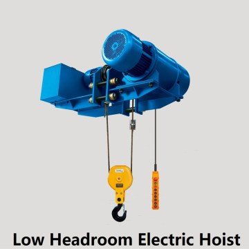Europe style 5 ton wire rope electric hoist