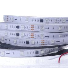 Hot sale DC12V WS2811 Led Strip 5050 Digital RGB LED Light,30LEDs/M IP67 Tube Waterproof Dream Magic Color