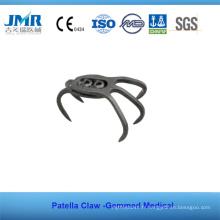 Plaque de griffe de rotule à implantation orthopédique aux traumatismes métalliques