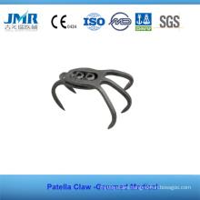 Metal Trauma Bone Orthopedic Implant Patella Claw Plate