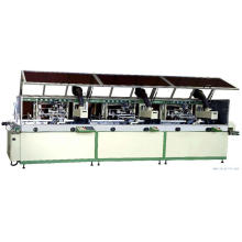 Automatic 3-colour cylinder UV Screen Printer