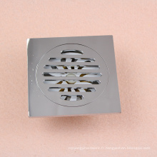 Grille de plancher de douche de haute qualité vidange vidange de plancher en laiton