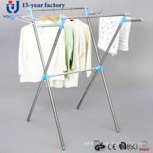 Aço inoxidável X-tipo cabide secagem de roupa
