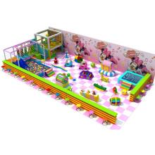 Equipo eléctrico de juegos infantiles de juegos suaves en el interior