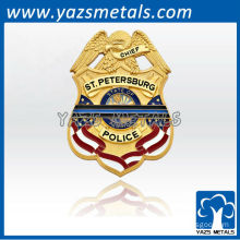custom made high quality 3D military badge for st pete