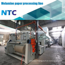 Decorative kraft paper processing machine / Paper impregnation line