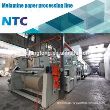 Máquina de processamento de papel kraft decorativa / linha de impregnação de papel