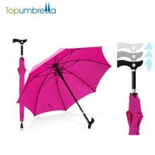 """23 """"8ribs lidar com carrinho de guarda-chuva ajustável"""