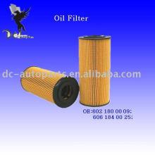 Elemento filtrante de aceite lubricante 6021800009 para Mercedes-Benz