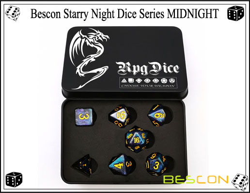 Starry Night Dice-5