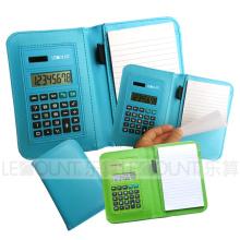 Notebook mit Taschenrechner und Kugelschreiber (LC805C)