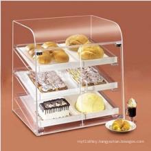 Layered Acrylic Cupcake Display Box, POS Cakes Display