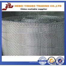 Malla de alambre de soldadura de metal galvanizado cuadrado