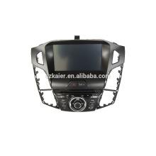 8''car lecteur dvd, usine directement! Quad core, GPS, DVD, radio, bluetooth wifi, wsc, ipod pour 2012 focus