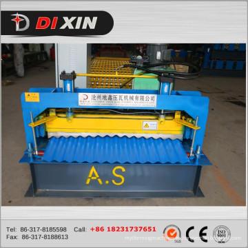 Hoja de techo de hierro corrugado Dx que forma la máquina