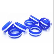 Alianza de boda de anillo de silicona personalizada ecológica