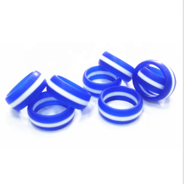 Eco friendly custom silicone ring wedding band