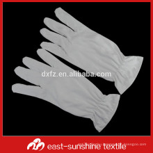 80%polyester+20%polyamide microfiber glove with a rubber band for jewelry and watches