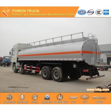 Shacman 8x4 Aluminium Fuel Tank Truck Capacity 30000L