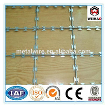 BTO22 Welded Typed Razor Barbed Wire Mesh