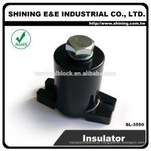 SL-3550 Thermoplastic 1.2KV Polymer Post Plastic Clamp Insulator