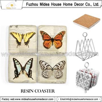 High Quality Handmade Resin Coaster