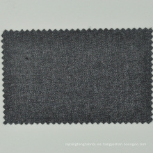 Traje de mujer italiano Loro Cadini lana tejido gris medio semi-peinado para abrigo