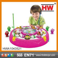 Игрушка для малышей Обучающая игрушка Электрическая вращающаяся игрушка электрическая рыбалка