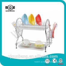 Placa de prato de metal ecológica / Rack de prato de aço inoxidável com certificado CE