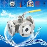 Stainless Steel Flange Control Ball Valve for Steam, Water, Gas