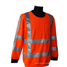 High visibility winter working shirt