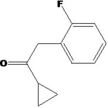 Cyclopropyl-2-fluorbenzyl-Keton CAS-Nr .: 150322-73-9