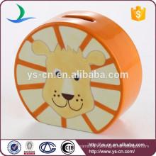 Декоративная краска Львиная голова Керамическая банка для копилки