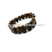 Tiger eye Birthday stone bead Bracelet