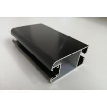 6063 T5 черный анодированный алюминиевый профиль