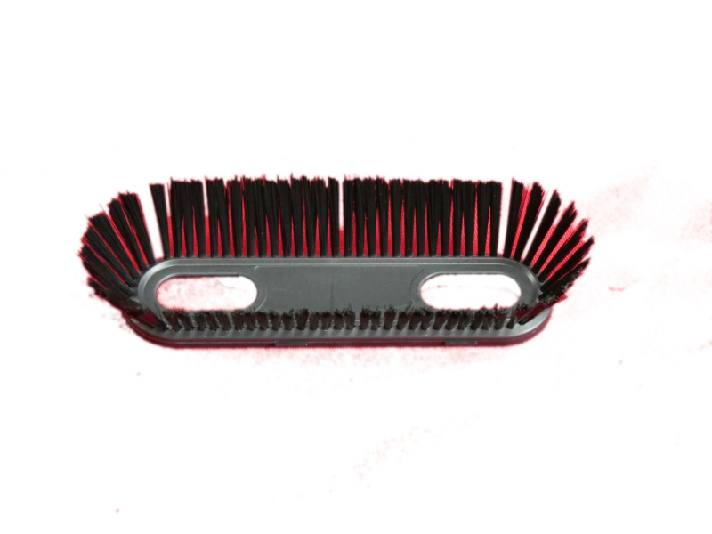 brush sample of 5 Axes Flat Wire Brush Machine