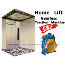 Máquina de tracción Gearless de elevador sincrónico de imán permanente