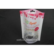 Laminado Eco friendly plástico Stand-up bolsas / malas