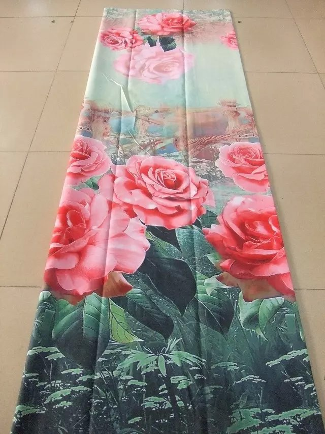 Bed Sheet pigment printed queen Size