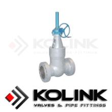 Válvula de compuerta de presión de alta presión