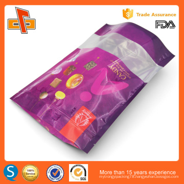 Chinese OEM printing reusable laminated plastic stand up doypack with zipper