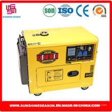 6KW немого дизайн дизель генератор для дома & мощности питания